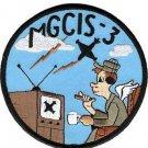USMC MGCIS-3 Marine Ground Controlled Intercept Squadron Patch