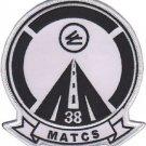 USMC MATCS-38 Marine Air Traffic Control Squadron Patch