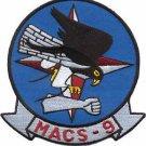 USMC MACS-9 Marine Air Control Squadron Patch