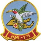 USMC HML-771 Marine Light Helicopter Squadron Patch