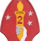 USMC 2nd MARDIV Marine Division Patch