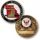 US Navy USS Jefferson City SSN-759 Challenge Coin