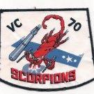 US Navy VC-70 Composite Squadron Scorpions Patch