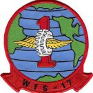 USMC WTS 17 Wing Transportation Squadron Military Patch