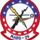 USMC MABS 29 Marine Air Base Squadron Patch