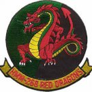 USMC HMM-268 Marine Medium Helicopter Squadron RED DRAGONS Patch