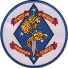 USMC 1st Battalion, 4th Marine Regiment Patch