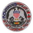 United States Armed Forces Vietnam War Veteran Patch - Silver