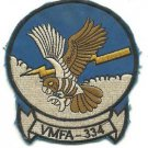 USMC Marine Fighter Attack Squadron 334 Vintage Vietnam Patch