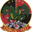 USMC HMLA-167 Marine Light Attack Helicopter Squadron Patch