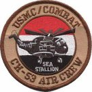 USMC CH-53 Air Crew Iraq Combat Helicopter Patch Sea Stallion