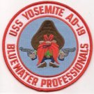 US Navy USS Yosemite AD-19 Bluewater Professional Patch