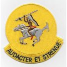 US Army 322nd Cavalry Regiment Patch - AUDACTER ET STRENUE