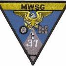 USMC MWSG 37 Marine Wing Support Group Patch