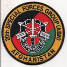 US Army 20th Special Forces Group Afghanistan Patch