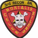USMC 3rd Recon Battalion Reconnaissance Battalion Patch