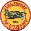 USMC CH-46 Air Crew Combat Helicopter FROG Patch