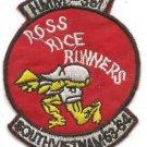 USMC HMM-361 Ross Rice Runners South Vietnam Vintage Patch