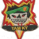 US Army 5th Special Forces Group MACV-SOG Tam Ky Vietnam Vintage Patch