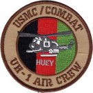 USMC UH-1 Air Crew Afghanistan Combat Huey Helicopter Patch