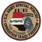 US Army Special Forces Operation Iraqi Freedom Patch
