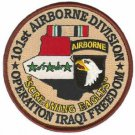 US Army 101st Airborne Division Operation Iraqi Freedom Patch