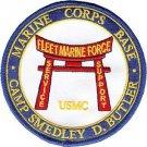 USMC MCB Camp Butler Marine Corp Base Okinawa Japan Patch
