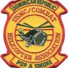 USMC Combat Dominican Republic Helicopter Association Pop A Smoke Patch
