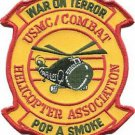 USMC Combat War on Terror Helicopter Association Pop A Smoke Patch