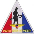 USMC MARTD South Weymouth Marine Air Reserve Training Detachment Patch