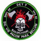 US Navy HSL-46 DET 7 Helicopter Anti-Submarine Squadron Light FFG 42 Patch
