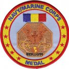 United States Navy And Marine Corps Service Military Medal Patch