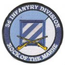 US Army 3rd Infantry Division Patch with Rifles
