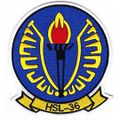 US Navy HSL-36 Helicopter Anti-Submarine Squadron Light Patch LAMPLIGHTERS