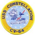 US Navy CV-64 USS Constellation Patch
