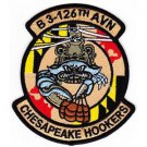 US Army 3rd Squadron 126th Aviation Regiment B Company Patch CHESAPEAKE HOOKERS