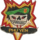 US 5th Special Forces Group MACV-SOG PHU YEN Vietnam Vintage Patch