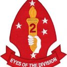 USMC 2nd MARDIV Marine Division Aerial Observation Eyes of the Division Patch