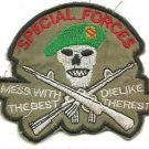 USMC Special Force Mess With The Best Die Like Vintage Vietnam Unoffical Patch