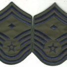 AIR FORCE CHEVRON: SENIOR MASTER SERGEANT: FIRST SERGEANT - LARGE ABU 2 Patches
