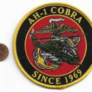 USMC AH-1 Cobra Helicopter Since 1969 Patch