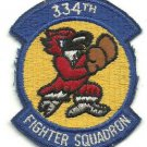 USAF 334 FS 334th Fighter Squadron Eagle Squadron Vintage Vietnam Patch