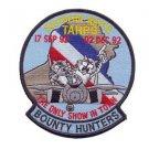 US Navy VF-2 F-14 Tomcat Aviation Vertical Fighter Sq Two Bounty Hunters Patch