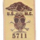 USMC CBRN Defense Specialists MOS 5711 Patch