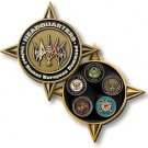 United States Military European Command Challenge Coin