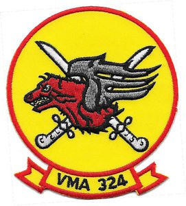 USMC VMA-324 Patch
