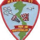 USMC MATCU-67 Marine Air Traffic Control Unit Patch