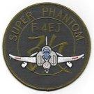 USAF McDonnell Douglas F-4EJ Super Phantom Military Patch