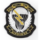 US Army 7th Airborne Corps Military Patch SKY DRAGONS EYES BEHIND THE LINES