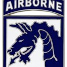 US Army 18th Airborne Division Combat Service Badge (2 inch)